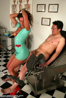 Photo number 3 from Dave and Kym Wilde shot for Men In Pain on Kink.com. Featuring Kym Wilde and Dave in hardcore BDSM & Fetish porn.