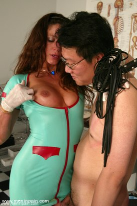 Photo number 8 from Dave and Kym Wilde shot for Men In Pain on Kink.com. Featuring Kym Wilde and Dave in hardcore BDSM & Fetish porn.