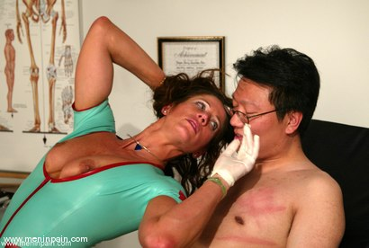 Photo number 2 from Dave and Kym Wilde shot for Men In Pain on Kink.com. Featuring Kym Wilde and Dave in hardcore BDSM & Fetish porn.
