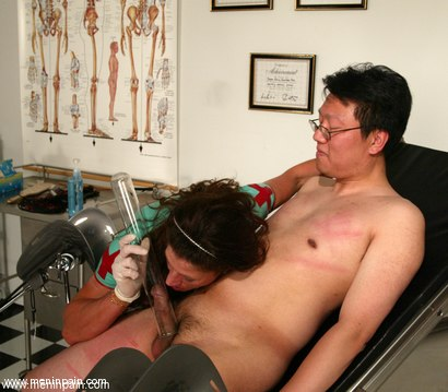 Photo number 13 from Dave and Kym Wilde shot for Men In Pain on Kink.com. Featuring Kym Wilde and Dave in hardcore BDSM & Fetish porn.