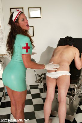 Photo number 14 from Dave and Kym Wilde shot for Men In Pain on Kink.com. Featuring Kym Wilde and Dave in hardcore BDSM & Fetish porn.