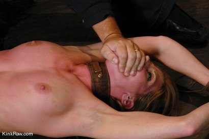 Photo number 9 from Whip or Tickle 1<br />A severe flogging and tickling shoot! shot for Kink Raw Test Shoots on Kink.com. Featuring Ariel X in hardcore BDSM & Fetish porn.