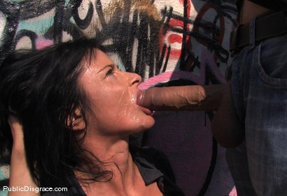 Photo number 8 from Cecilia Vega fucked in Public!! shot for Public Disgrace on Kink.com. Featuring Cecilia Vega in hardcore BDSM & Fetish porn.