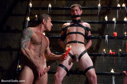 Photo number 4 from Master Nick Moretti and slaveboy cj shot for Bound Gods on Kink.com. Featuring CJ and Nick Moretti in hardcore BDSM & Fetish porn.