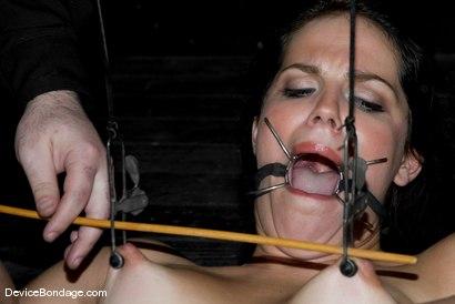 Photo number 4 from Quandary shot for devicebondage on Kink.com. Featuring Bobbi Starr in hardcore BDSM & Fetish porn.