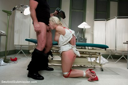 Photo number 7 from Nurse Sin shot for Sex And Submission on Kink.com. Featuring Mark Davis and Samantha Sin in hardcore BDSM & Fetish porn.