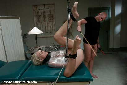 Photo number 9 from Nurse Sin shot for Sex And Submission on Kink.com. Featuring Mark Davis and Samantha Sin in hardcore BDSM & Fetish porn.