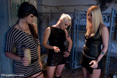 Photo number 2 from Gang Initiation shot for Whipped Ass on Kink.com. Featuring Harmony, Lorelei Lee, Bobbi Starr, Hollie Stevens and Ariel X in hardcore BDSM & Fetish porn.