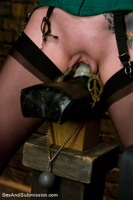 Photo number 8 from Return of Berlin shot for Sex And Submission on Kink.com. Featuring Mark Davis and Mz Berlin in hardcore BDSM & Fetish porn.