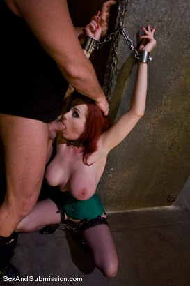 Photo number 4 from Return of Berlin shot for Sex And Submission on Kink.com. Featuring Mark Davis and Mz Berlin in hardcore BDSM & Fetish porn.