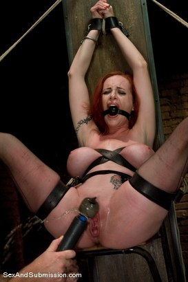 Photo number 14 from Return of Berlin shot for Sex And Submission on Kink.com. Featuring Mark Davis and Mz Berlin in hardcore BDSM & Fetish porn.