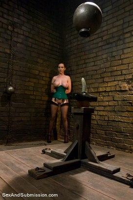 Photo number 6 from Return of Berlin shot for Sex And Submission on Kink.com. Featuring Mark Davis and Mz Berlin in hardcore BDSM & Fetish porn.