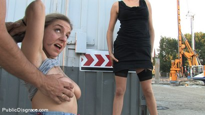 Photo number 11 from Hot MILF with huge tits and ass!!! shot for Public Disgrace on Kink.com. Featuring Jagdelfe in hardcore BDSM & Fetish porn.