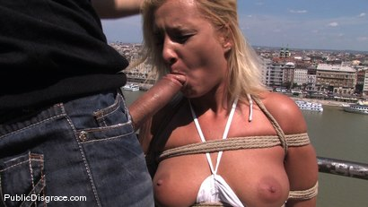 Photo number 9 from Doggy walk shot for Public Disgrace on Kink.com. Featuring Angelic in hardcore BDSM & Fetish porn.