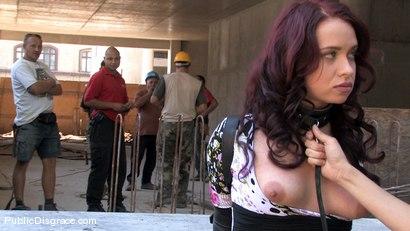 Photo number 3 from Olga shot for Public Disgrace on Kink.com. Featuring Olga Cabaeva in hardcore BDSM & Fetish porn.