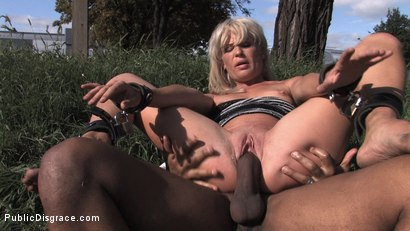 Photo number 15 from BIG BLACK COCK shot for Public Disgrace on Kink.com. Featuring Tea Blondie in hardcore BDSM & Fetish porn.
