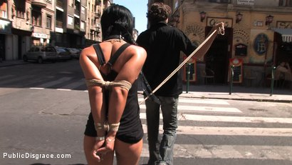 Photo number 1 from Ass fucking and cock sucking in public! shot for Public Disgrace on Kink.com. Featuring Cassie in hardcore BDSM & Fetish porn.