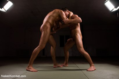 Photo number 4 from Fabrizio Mangiatti vs Rick Bauer shot for Naked Kombat on Kink.com. Featuring Rick Bauer and Fabrizio Mangiatti in hardcore BDSM & Fetish porn.