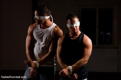 Photo number 1 from Fabrizio Mangiatti vs Rick Bauer shot for Naked Kombat on Kink.com. Featuring Rick Bauer and Fabrizio Mangiatti in hardcore BDSM & Fetish porn.