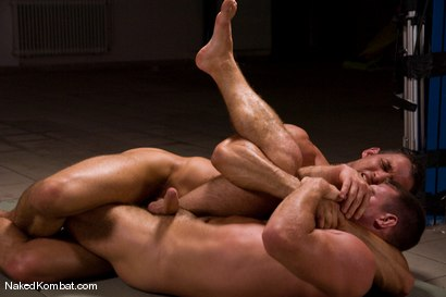 Photo number 8 from Fabrizio Mangiatti vs Rick Bauer shot for Naked Kombat on Kink.com. Featuring Rick Bauer and Fabrizio Mangiatti in hardcore BDSM & Fetish porn.