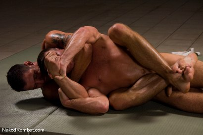 Photo number 7 from Fabrizio Mangiatti vs Rick Bauer shot for Naked Kombat on Kink.com. Featuring Rick Bauer and Fabrizio Mangiatti in hardcore BDSM & Fetish porn.