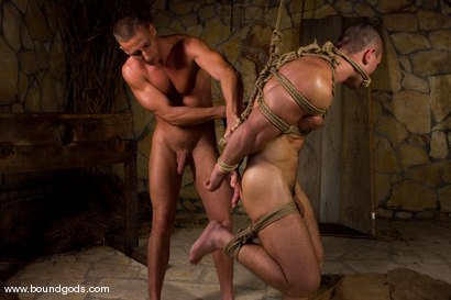 Photo number 12 from Medieval Budapest shot for Bound Gods on Kink.com. Featuring Rod Stevans and James Jorden in hardcore BDSM & Fetish porn.