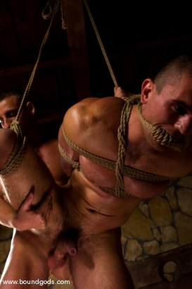 Photo number 13 from Medieval Budapest shot for Bound Gods on Kink.com. Featuring Rod Stevans and James Jorden in hardcore BDSM & Fetish porn.