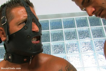 Photo number 6 from Master Sergio and slave claudio shot for Bound Gods on Kink.com. Featuring Claudio Antonelli and Sergio Soldi in hardcore BDSM & Fetish porn.