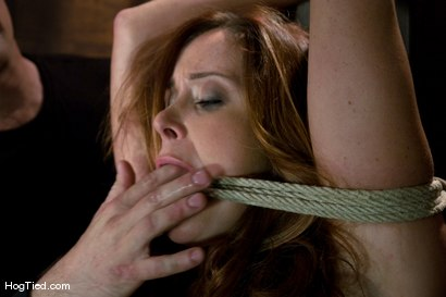 Photo number 12 from Christine is back for more screaming orgasms shot for Hogtied on Kink.com. Featuring Christina Carter in hardcore BDSM & Fetish porn.
