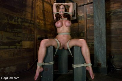 Photo number 9 from Christine is back for more screaming orgasms shot for Hogtied on Kink.com. Featuring Christina Carter in hardcore BDSM & Fetish porn.