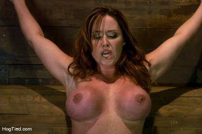 Photo number 3 from Christine is back for more screaming orgasms shot for Hogtied on Kink.com. Featuring Christina Carter in hardcore BDSM & Fetish porn.