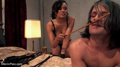 Photo number 8 from The New Bitch shot for Men In Pain on Kink.com. Featuring Annie Cruz and Sky Burn in hardcore BDSM & Fetish porn.