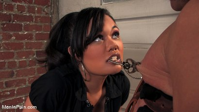 Photo number 2 from The New Bitch shot for Men In Pain on Kink.com. Featuring Annie Cruz and Sky Burn in hardcore BDSM & Fetish porn.