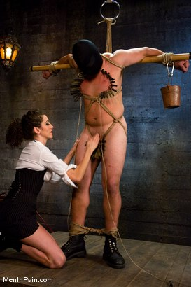 Photo number 7 from The Fucking Machine shot for Men In Pain on Kink.com. Featuring Princess Donna Dolore and Orlando in hardcore BDSM & Fetish porn.
