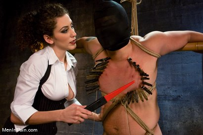 Photo number 10 from The Fucking Machine shot for Men In Pain on Kink.com. Featuring Princess Donna Dolore and Orlando in hardcore BDSM & Fetish porn.