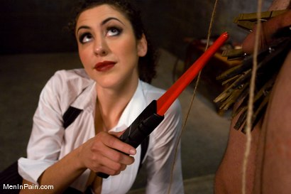 Photo number 9 from The Fucking Machine shot for Men In Pain on Kink.com. Featuring Princess Donna Dolore and Orlando in hardcore BDSM & Fetish porn.