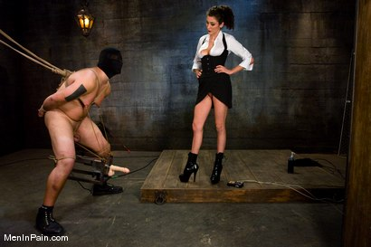 Photo number 12 from The Fucking Machine shot for Men In Pain on Kink.com. Featuring Princess Donna Dolore and Orlando in hardcore BDSM & Fetish porn.