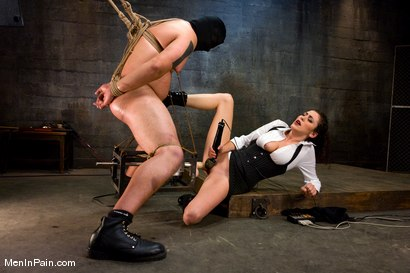 Photo number 13 from The Fucking Machine shot for Men In Pain on Kink.com. Featuring Princess Donna Dolore and Orlando in hardcore BDSM & Fetish porn.