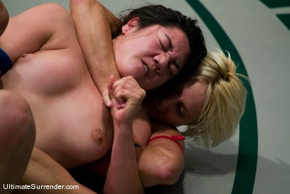 "Photo number 8 from Vendetta (0-0) <br>vs<br>Kiki ""The Big Kahuna"" (0-0) shot for Ultimate Surrender on Kink.com. Featuring Kiki and Vendetta in hardcore BDSM & Fetish porn."