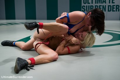 "Photo number 6 from Vendetta (0-0) <br>vs<br>Kiki ""The Big Kahuna"" (0-0) shot for Ultimate Surrender on Kink.com. Featuring Kiki and Vendetta in hardcore BDSM & Fetish porn."