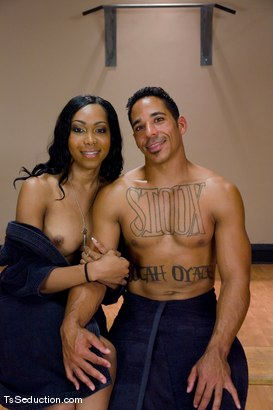 Photo number 15 from Sex-er-cise shot for TS Seduction on Kink.com. Featuring Sexy Jade and Lobo in hardcore BDSM & Fetish porn.