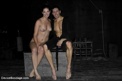 Photo number 12 from The Experiment: shot for Device Bondage on Kink.com. Featuring Bobbi Starr and Romario Faria in hardcore BDSM & Fetish porn.