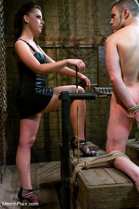 Photo number 6 from She Said 'Service Me' shot for Men In Pain on Kink.com. Featuring Penny Flame and Wolf Hudson in hardcore BDSM & Fetish porn.