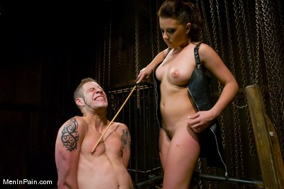 Photo number 7 from She Said 'Service Me' shot for Men In Pain on Kink.com. Featuring Penny Flame and Wolf Hudson in hardcore BDSM & Fetish porn.