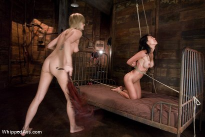 Photo number 11 from CLASSIC ARCHIVE SHOOT! Tia Ling's first time & Maitresse Madeline's second time at the Armory EVER! shot for Whipped Ass on Kink.com. Featuring Tia Ling and Maitresse Madeline Marlowe in hardcore BDSM & Fetish porn.