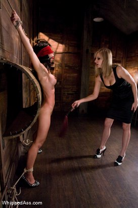 Photo number 6 from CLASSIC ARCHIVE SHOOT! Tia Ling's first time & Maitresse Madeline's second time at the Armory EVER! shot for Whipped Ass on Kink.com. Featuring Tia Ling and Maitresse Madeline Marlowe in hardcore BDSM & Fetish porn.