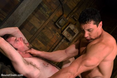 Photo number 10 from The Muscle Slave shot for Bound Gods on Kink.com. Featuring Romario Faria and Dante in hardcore BDSM & Fetish porn.