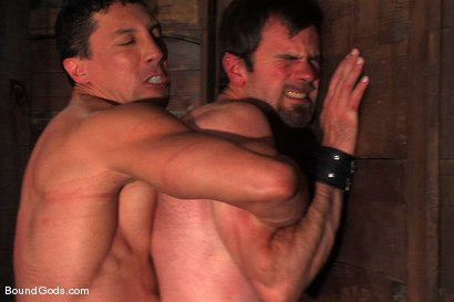 Photo number 9 from The Muscle Slave shot for Bound Gods on Kink.com. Featuring Romario Faria and Dante in hardcore BDSM & Fetish porn.