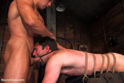Photo number 11 from The Muscle Slave shot for Bound Gods on Kink.com. Featuring Romario Faria and Dante in hardcore BDSM & Fetish porn.