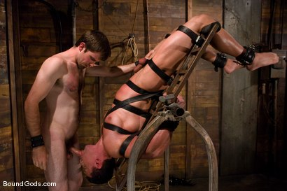 Photo number 6 from The Muscle Slave shot for Bound Gods on Kink.com. Featuring Romario Faria and Dante in hardcore BDSM & Fetish porn.
